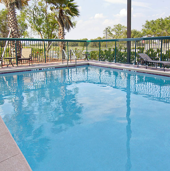 look through our amenities image gallery showing outdoor pool